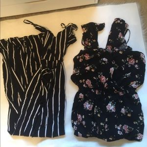 Bundle of (2) Forever 21  jumpsuits